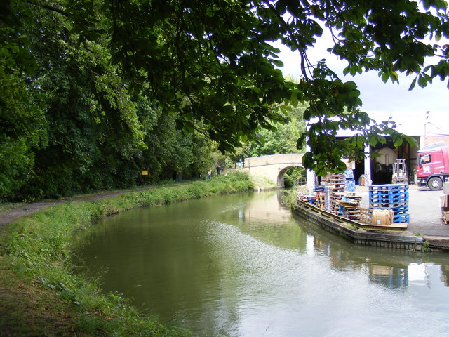 The Wendover Arm, Heygates Mill wharf