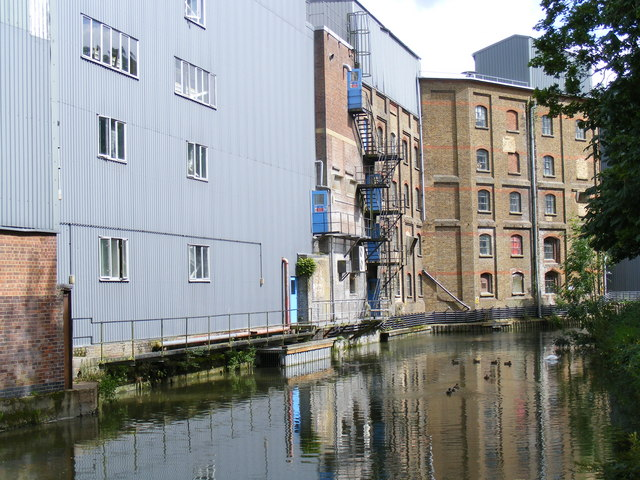 The Wendover Arm, Heygates flour mill