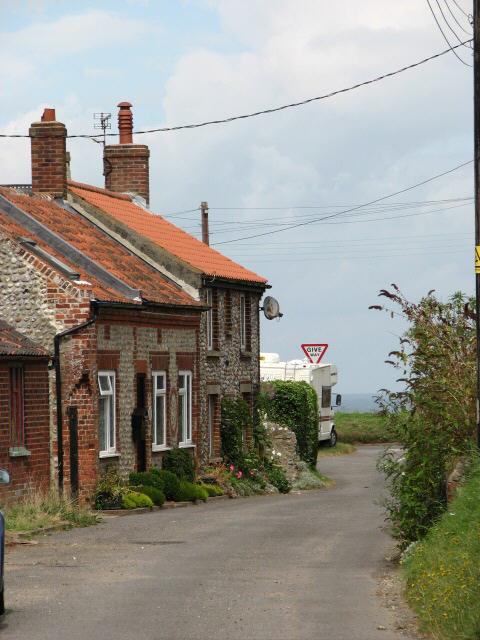 Cottages on Middle Street, Trimingham
