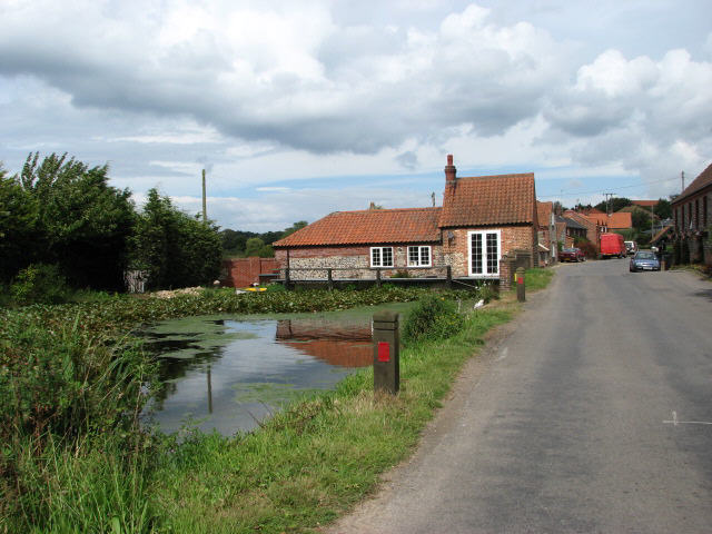 Approach to Old Corn Mill, Gimingham