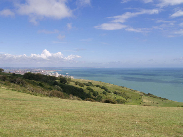 Eastbourne - from South Downs Way