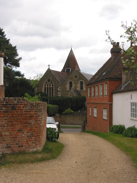 View of Holy Trinity Church, Bramley