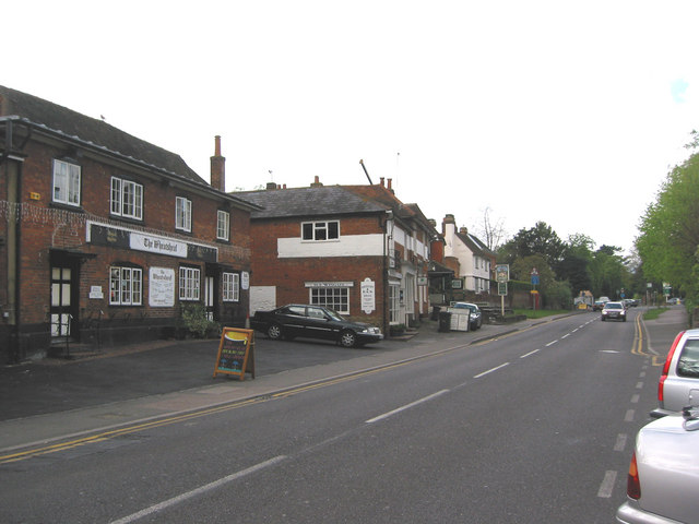 The Wheatsheaf  and Jolly Farmer public houses, Bramley