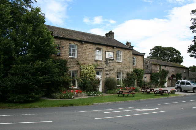 The Blue Lion at East Witton.