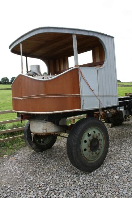 Sentinel Steam Lorry - Part Restored.