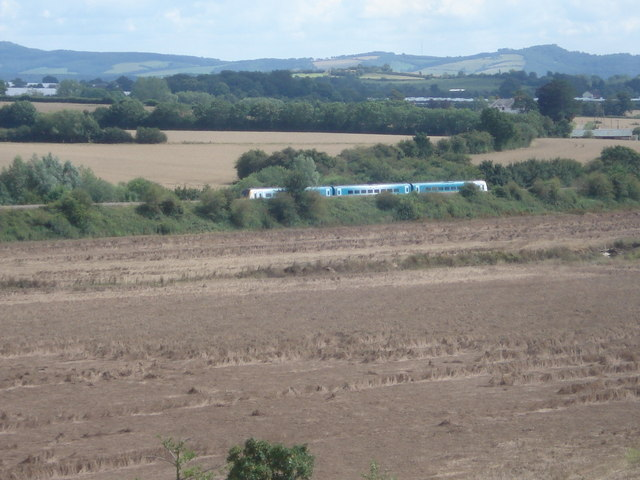 Shrewsbury to Hereford train