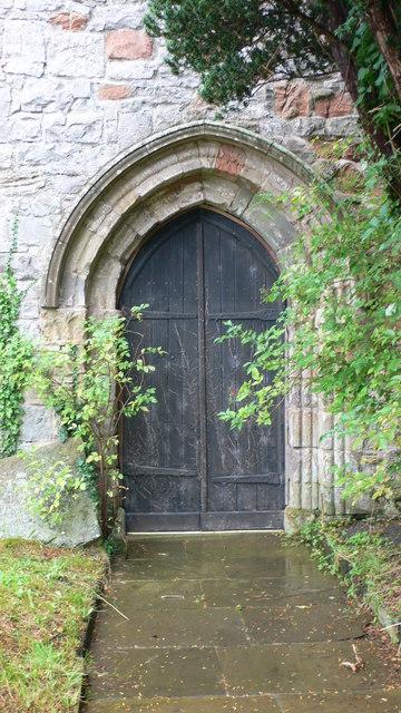 Doorway, Llanynys Church
