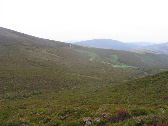 Track on Hill of Glenroads