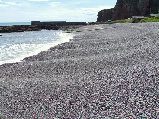 Foreshore at Auchmithie