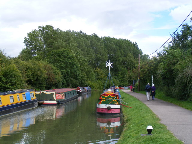 The Grand Union Canal at Bulbourne