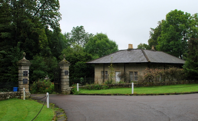 Gateway and Lodge to Callaly Castle