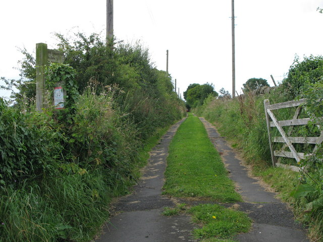 Footpath to Low Barns