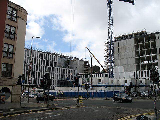 New building, University of Edinburgh