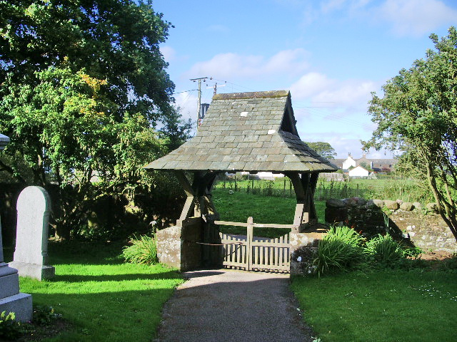 Lychgate, The Parish Church of St John the Evangelist, Crosscanonby