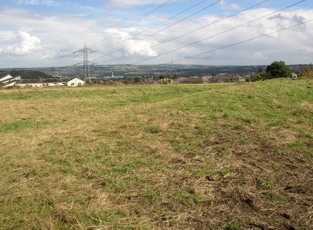 Former athletics track in field off Lindley Moor Road, Fixby