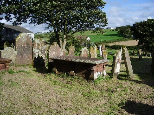 Graveyard, The Parish Church of St John the Evangelist, Crosscanonby