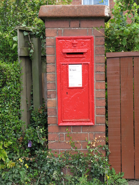Victorian postbox, Peth Head, Hexham