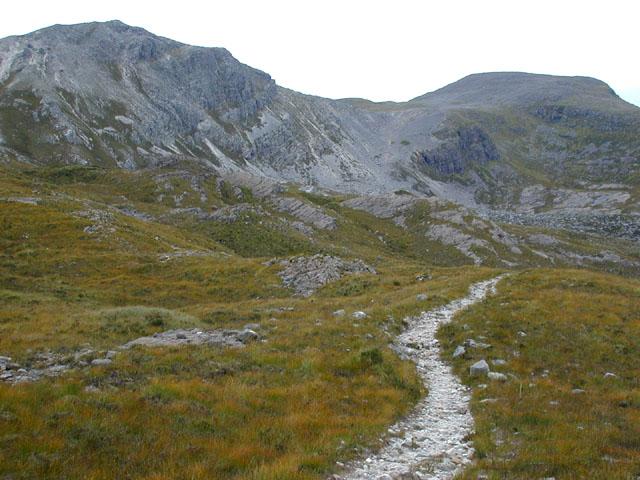 Path to Bealach a' Choire Ghairbh