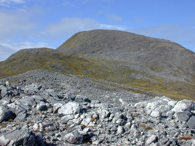 South eastern approach to Maol Chean-dearg