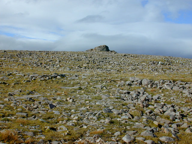 The summit of Maol Chean-dearg