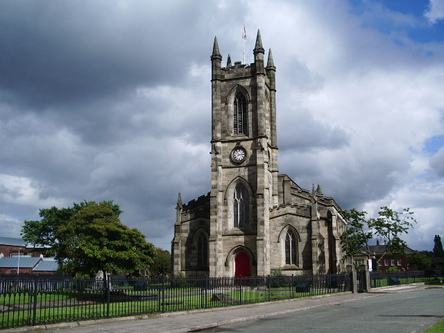 St Thomas Church, Pendleton, Salford