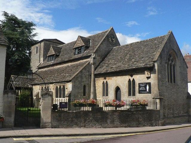 Cricklade: Catholic church of St. Mary