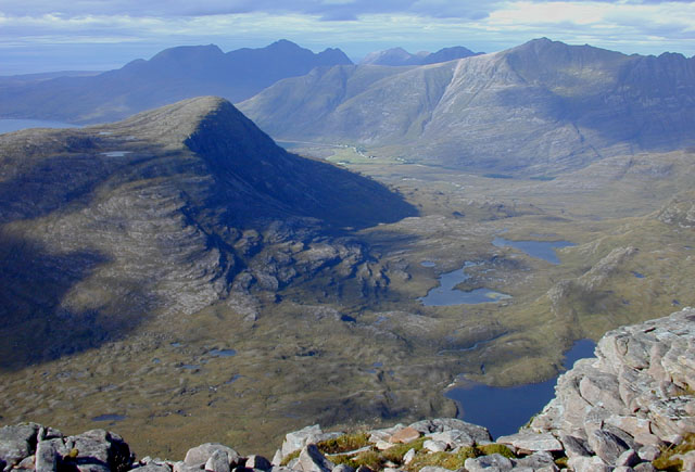 North west from Maol Chean-dearg