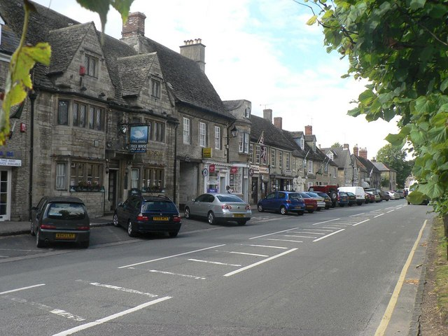 Lechlade: Burford Street