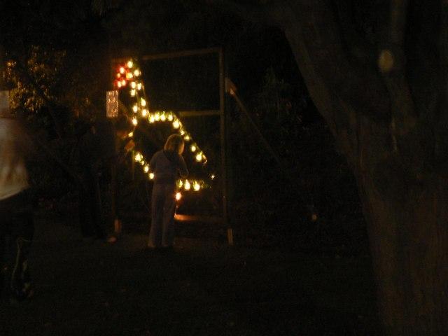 Bournemouth: illuminations by candlelight