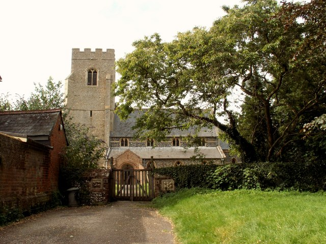 St. Mary's; the parish church of Brinkley