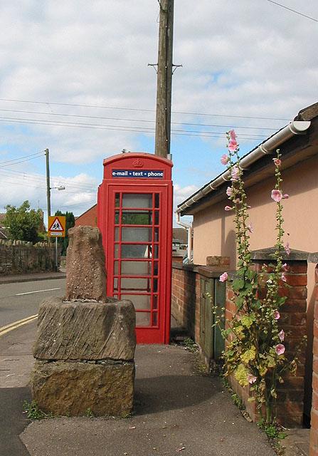 The phone box at Huntley