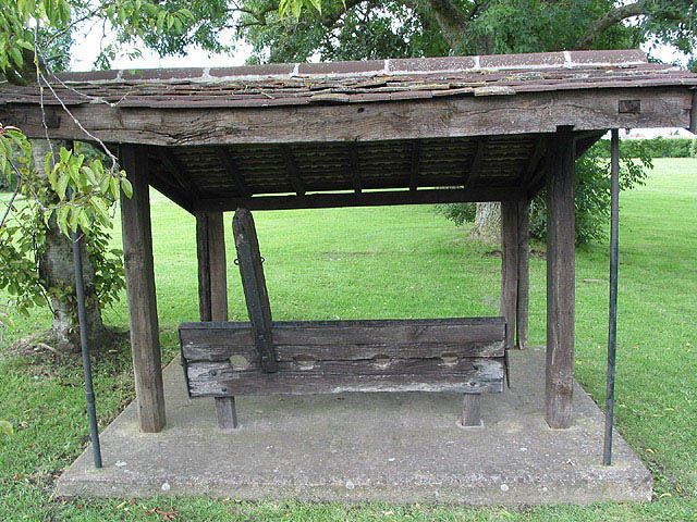 The Village Stocks, Huntley
