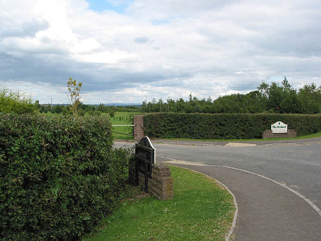 Entrance to The Orchard Golf Course