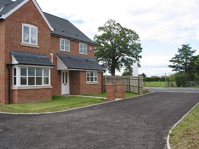 New housing at Huntley