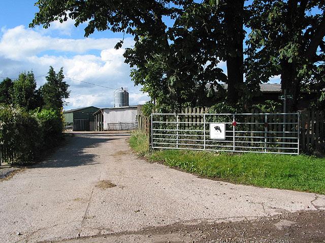 Entrance to Merriman's Farm