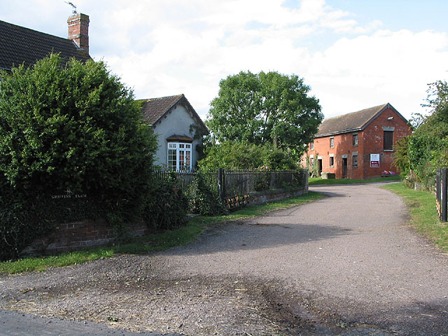 Entrance to Griffins Farm