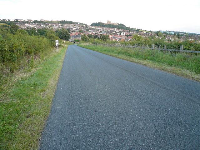 Bolsover - Viewed from Woodhouse Lane
