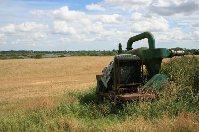 Farm machinery, Broad Hall Farm