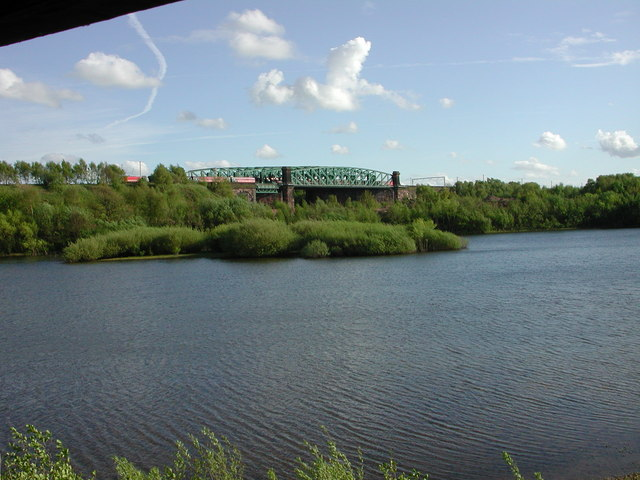 Moore Nature Reserve, Pump House Pool and Aston Grange Viaduct