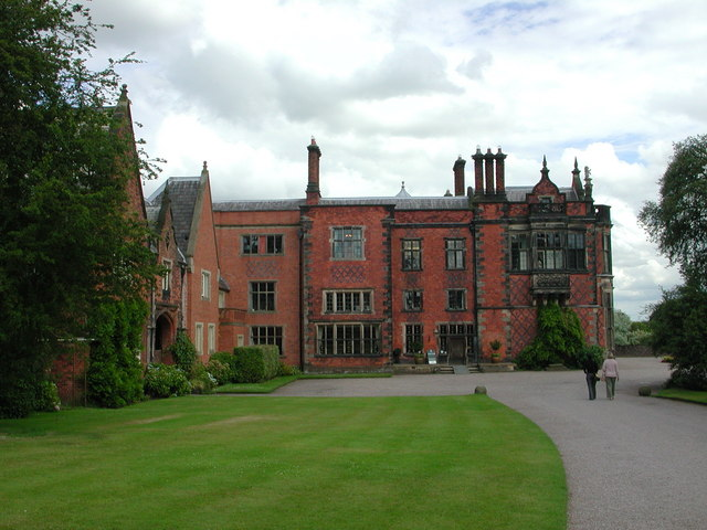 Arley Hall: the west façade