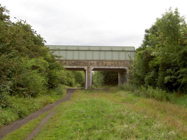 Broomhill road bridge over Trans Pennine Trail.