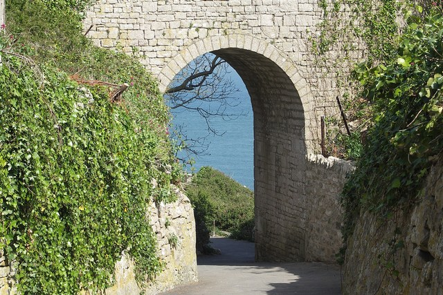 Archway to Church Ope Cove