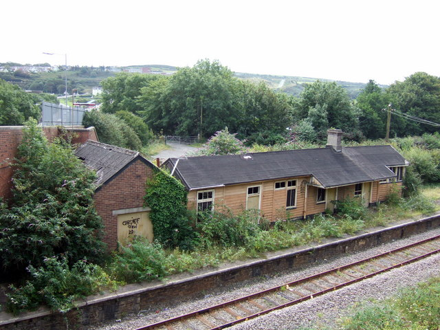 Old railway station Wdig/Goodwick