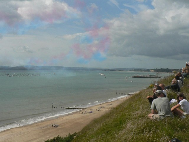 The Red Arrows visit Bournemouth: the aftermath
