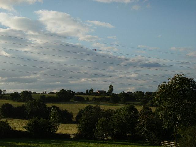 August farmfields in Loscoe