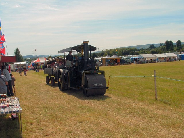 Evesham Steam Rally, Ashdown Farm