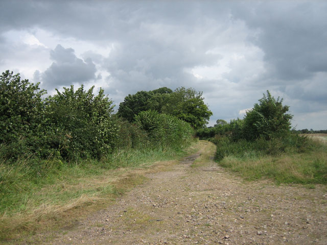 Track off Wood Norton Road, Upper Guist