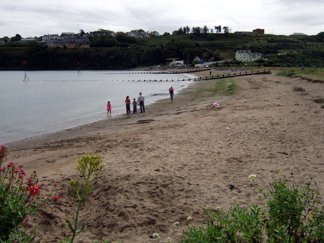 The beach at Wdig/Goodwick