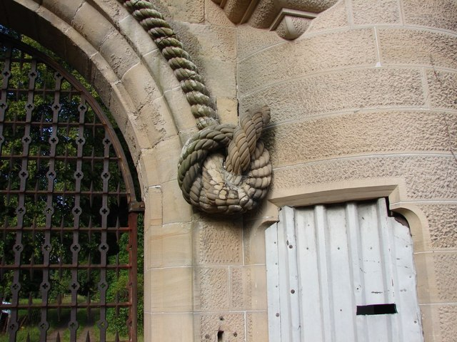 A rope made from sandstone