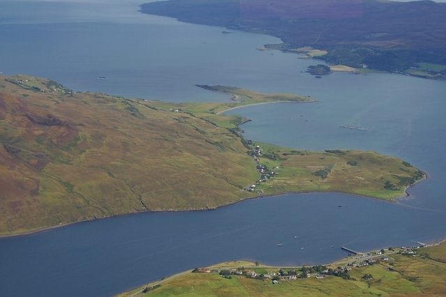 Mouth of Loch Sligachan